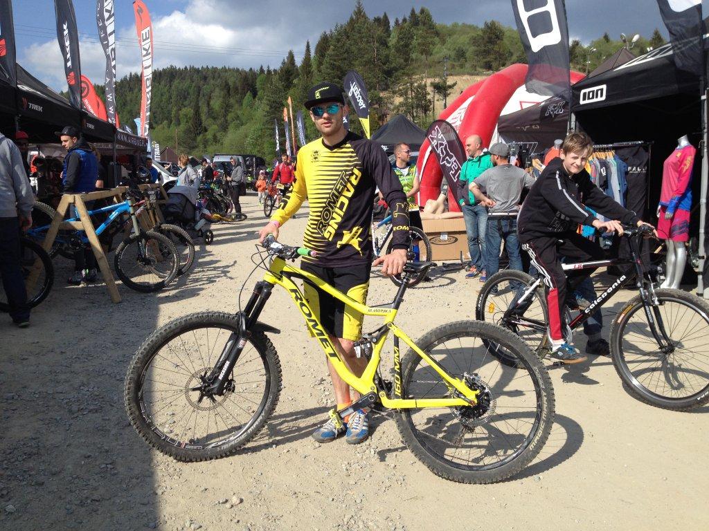 Mistrz wszechstronności Marcin Motyka i jego rowery