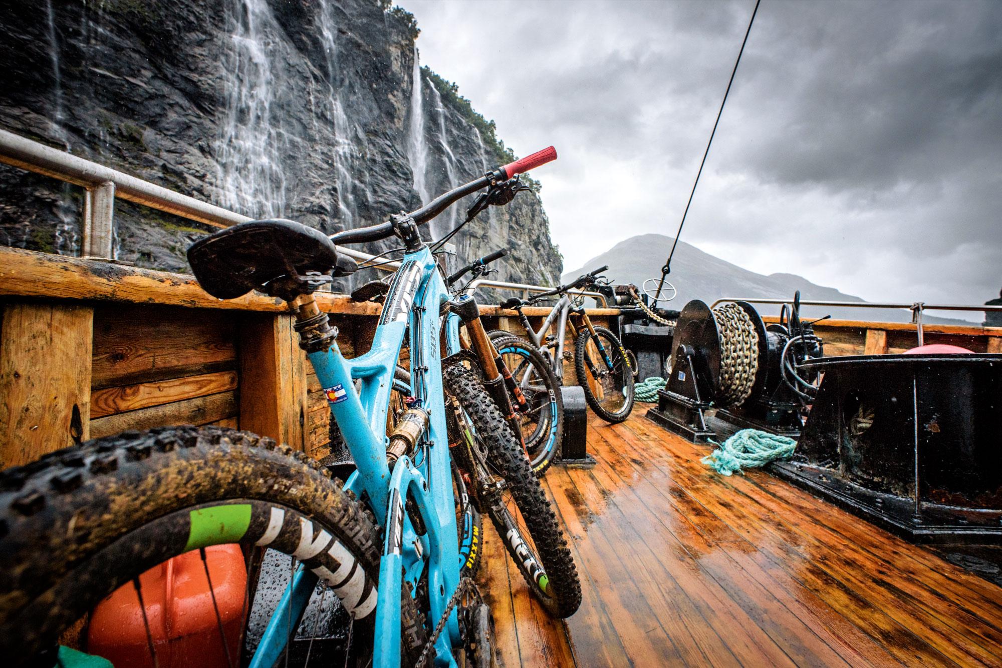 Rowerem po norweskich fiordach