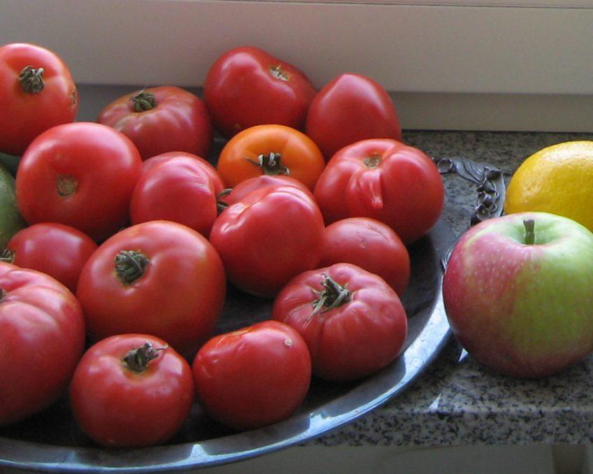 Jak schudnąć na rowerze - warzywa i owoce