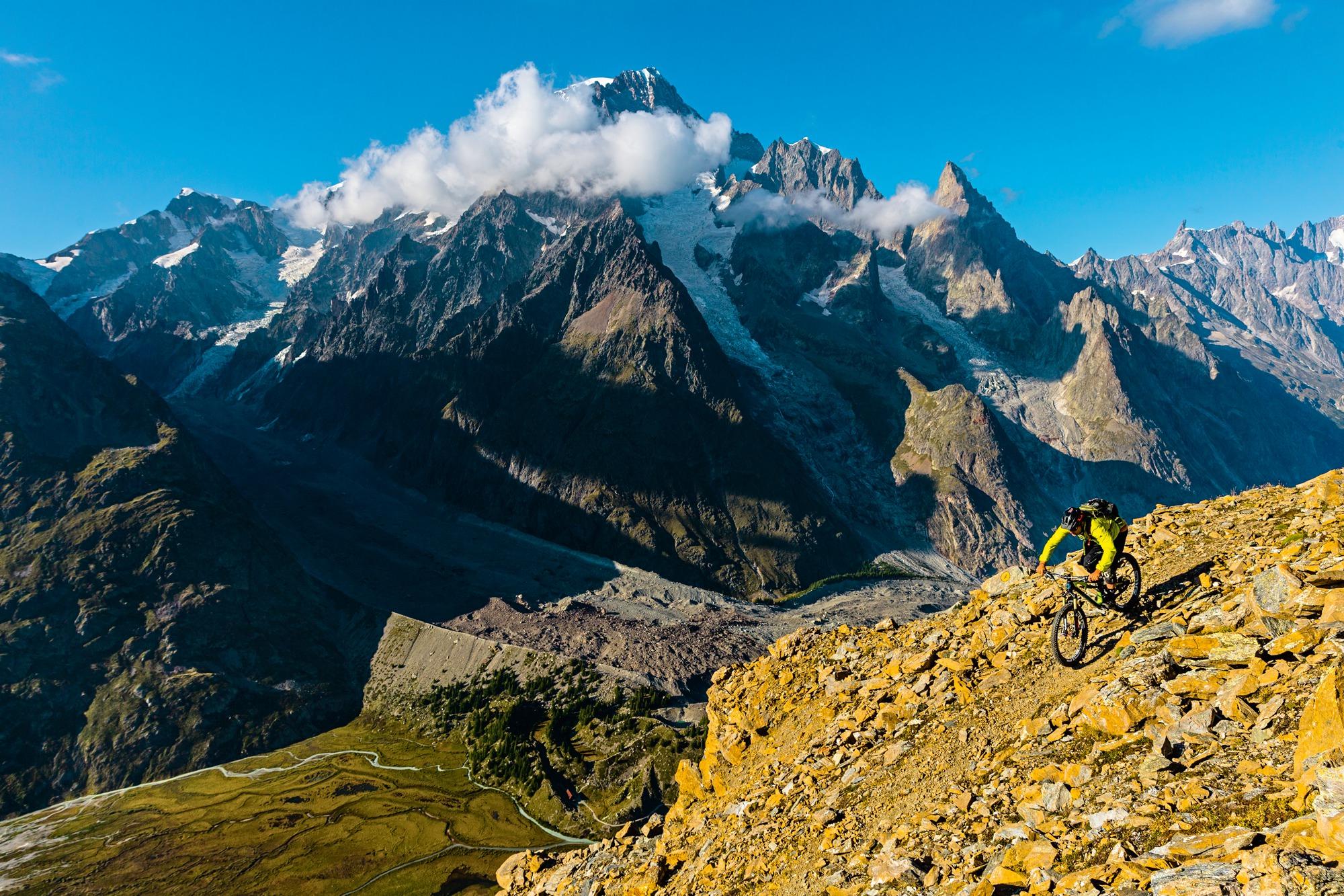 Dwóch Jankesów, MTB i Mont Blanc