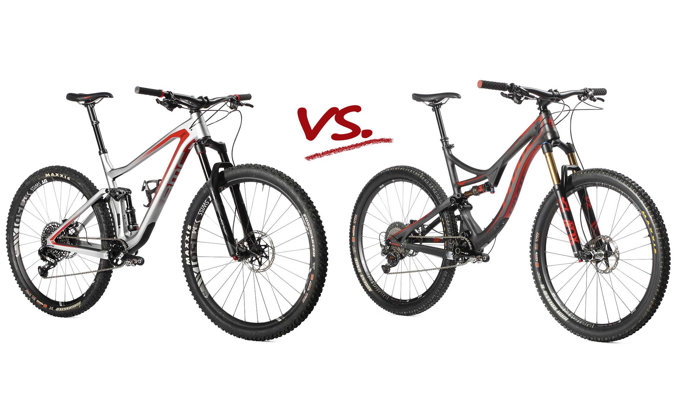 BMC Speedfox vs. Pivot Mach 4. Pojedynek