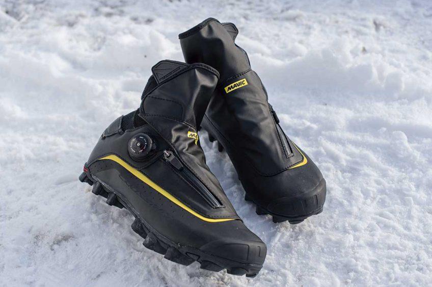 Zimowe buty rowerowe. Mavic