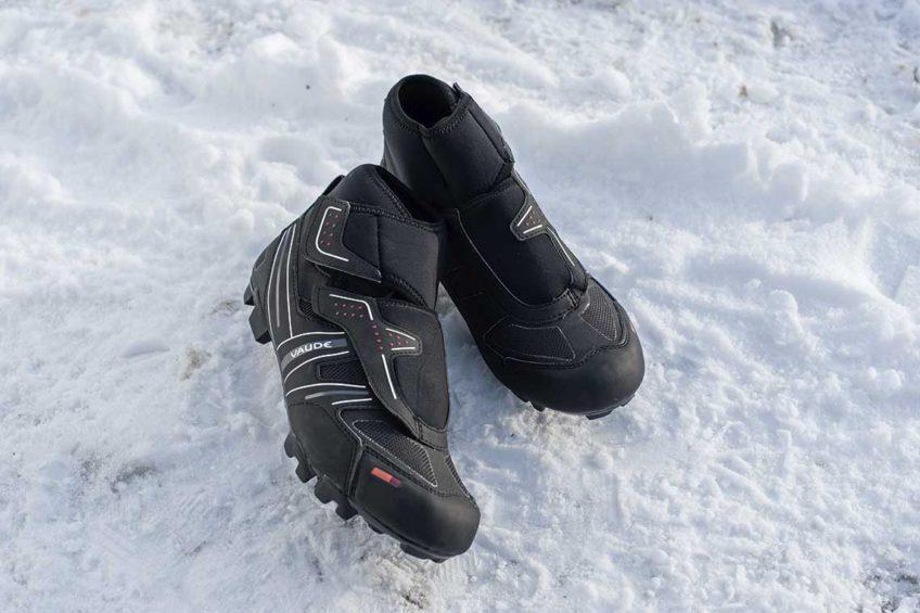 Zimowe buty rowerowe. Vaude