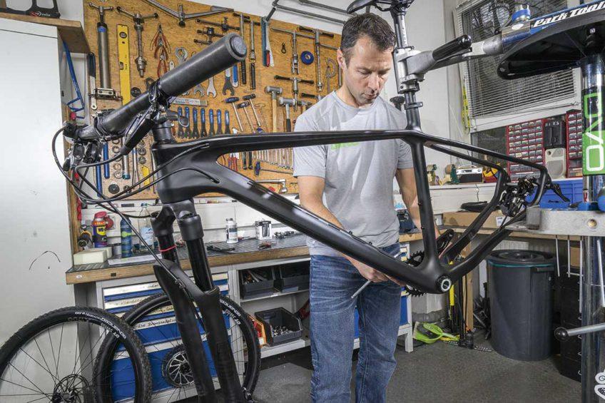 Testy Bike - przygotowanie roweru Romet Monsun 3.