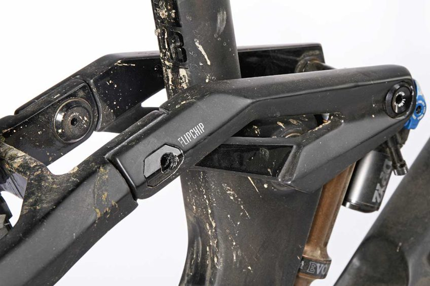 Rowery enduro RADON JAB 10.0 detal i wygląd stealth