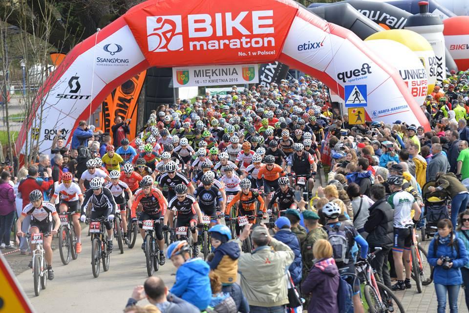 Cykl Bike Maraton startuje w Miękini