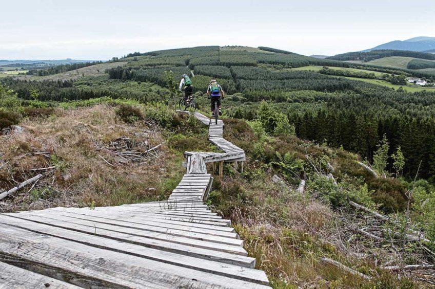 ścieżki w szkocji