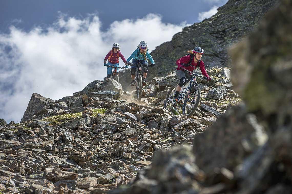 sScieżki, bike parki, przyszlość mtb, rowerzyści w górach