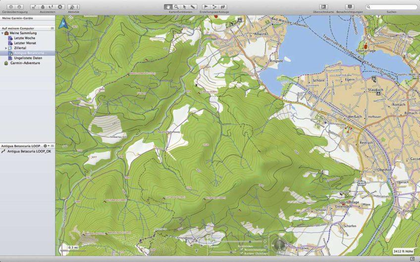 aktywna nawigacja mapy