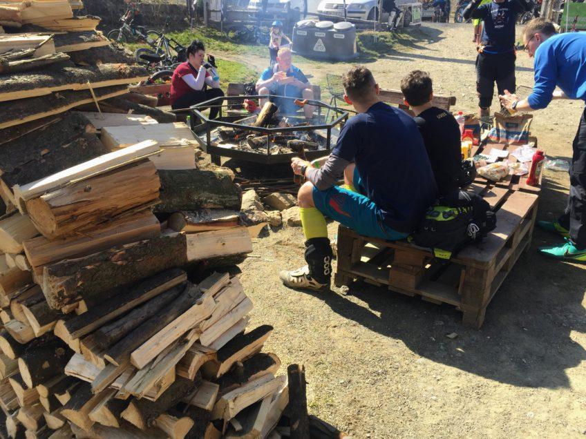 Otwarcie sezonu Srebrna Góra ognisko
