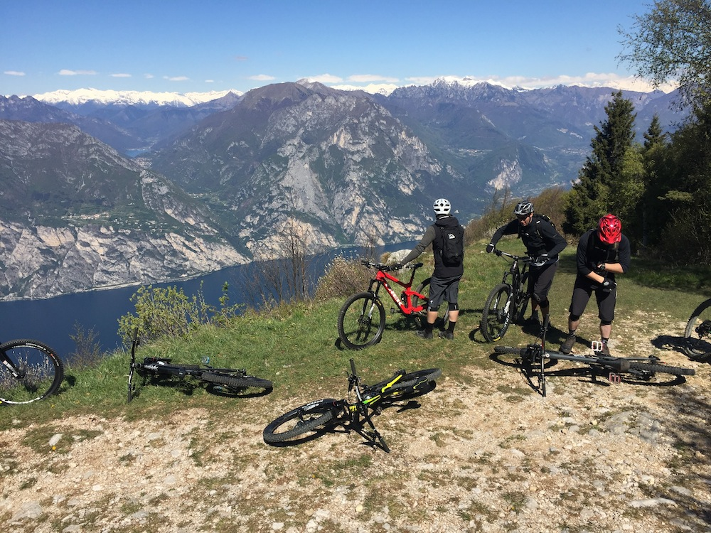 Riva del Garda początek Navene