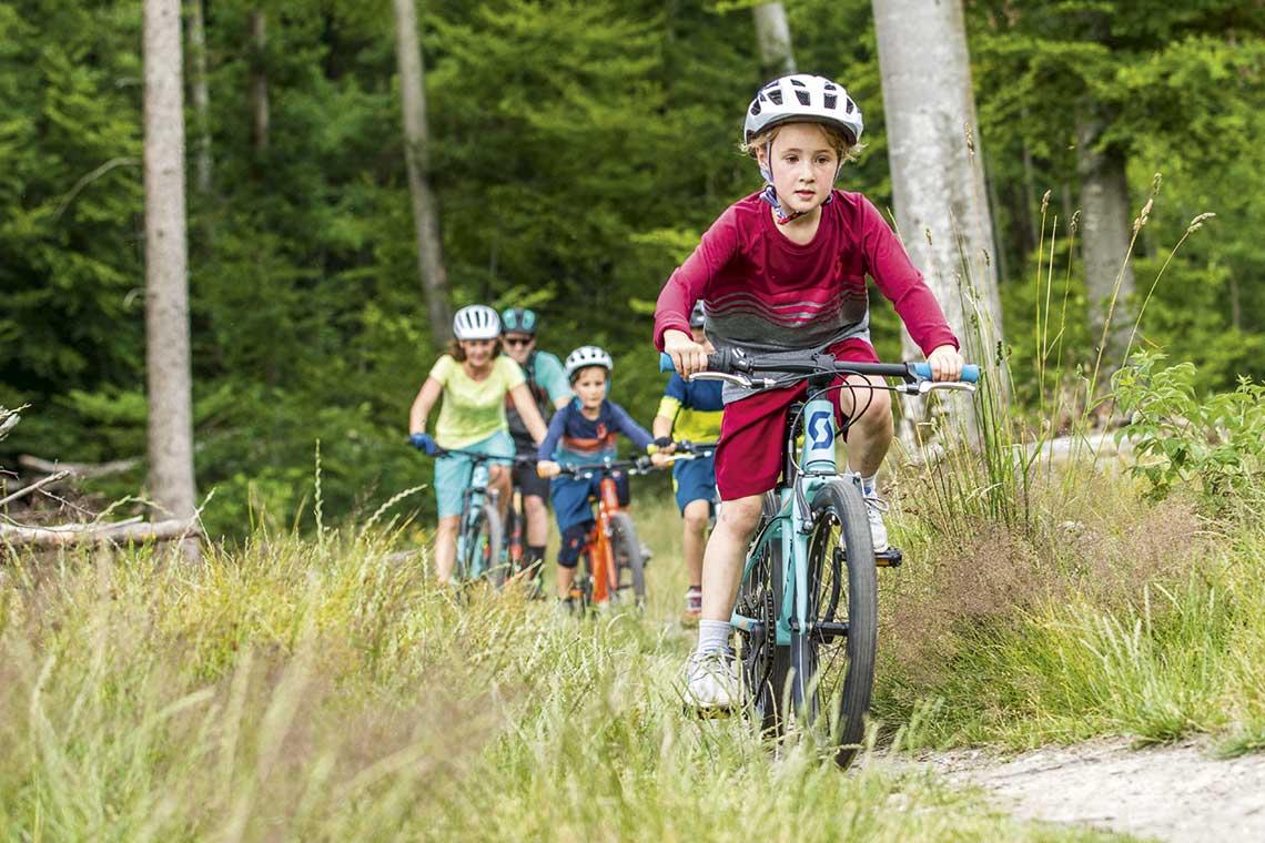 Jazda z dziećmi, mtb, dzieci na rowerach