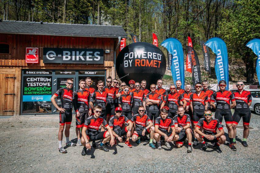 centrum testowe rowerów elektrycznych i team Romet