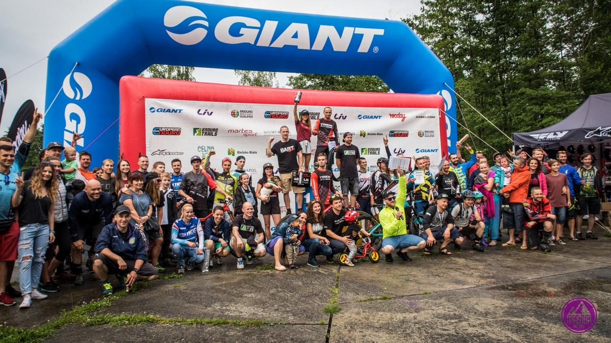 Zawody GIANT Enduro Trails 2018 w Bielsku Białej