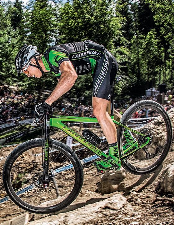 Rowery zwycięzców – Cannondale FSI Carbon 5