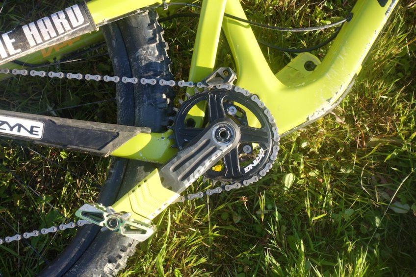 Cédric Gracia bike check