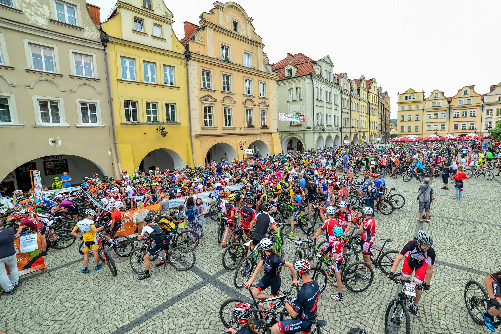 Bike Maraton Jelenia Góra 2018. UCI Marathon Series