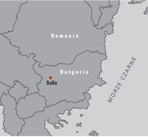 Bułgaria mapa