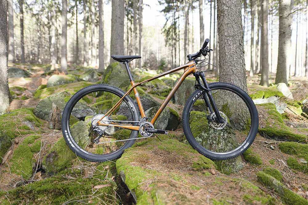 Hardtail do maratonu-Merdia Big Nine