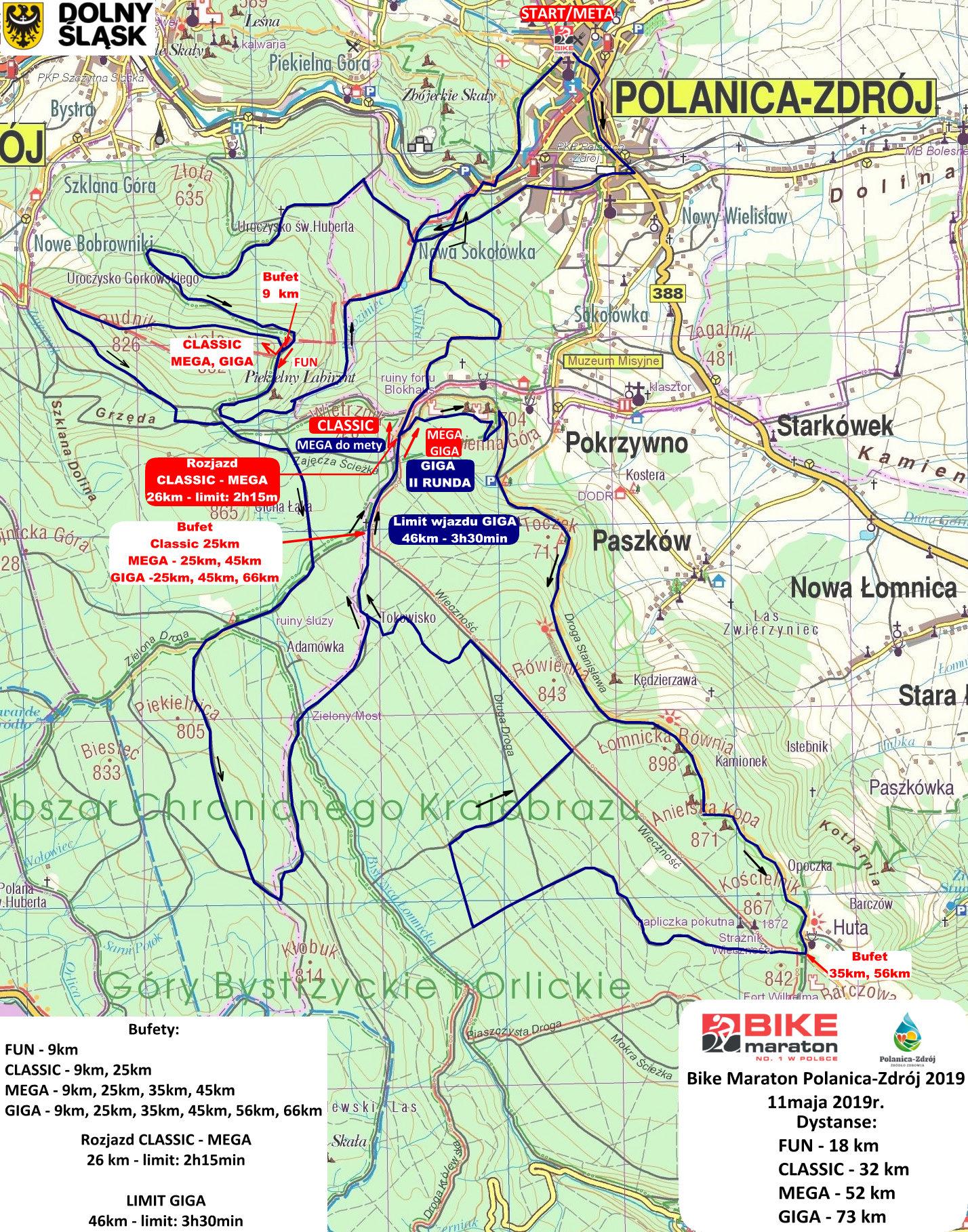 Bike Maraton w Polanicy-Zdroju rusza 11 maja!
