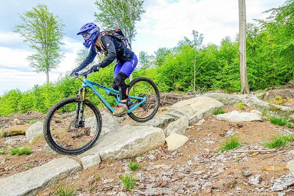First Ride – Yeti SB100