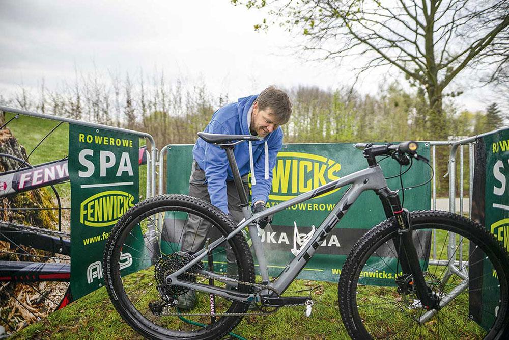 Warsztat Fenwick - Mycie roweru