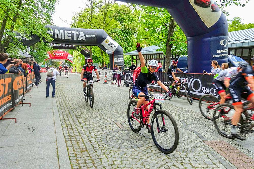 Pierwszy maraton - Bike Hero