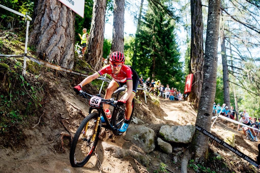 13. miejsce Mai Włoszczowskiej w Pucharze Świata w Val di Sole