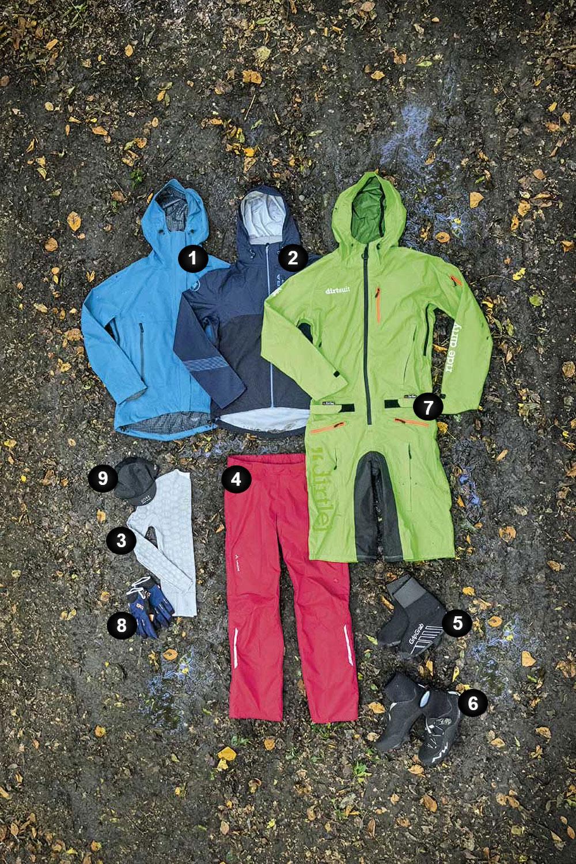 Odzież jesienna - zimno-mokro
