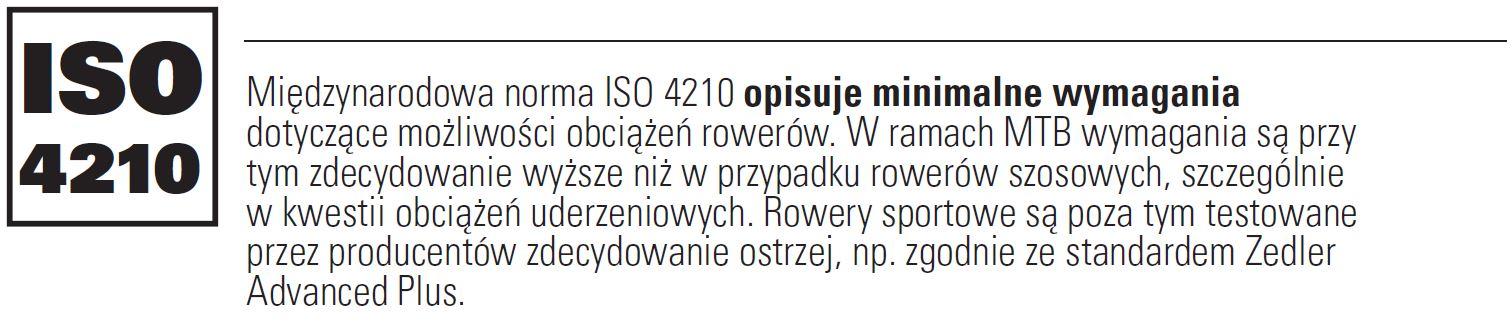 Tani karbon - ISO 4210