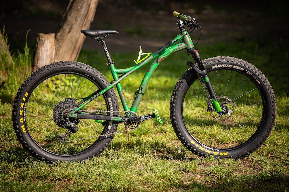 Preznetacja: BWB Custom Bikes Toudi na tłusto