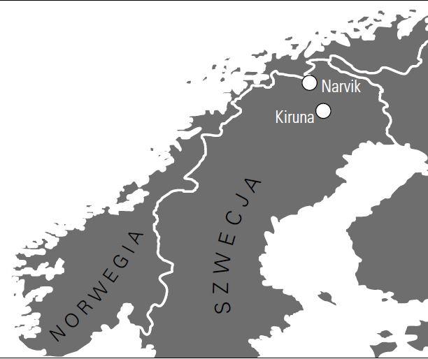 Laponia mapa