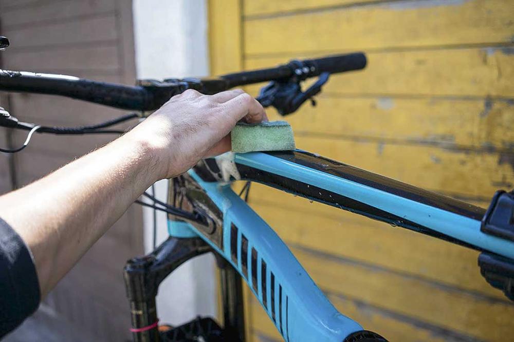 Czyszczenie roweru