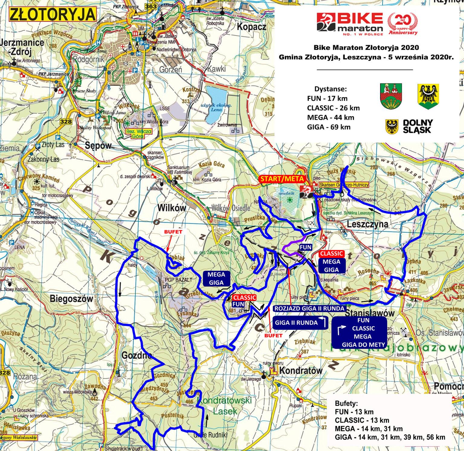 Bike Maraton w Gminie Złotoryja. Złotoryja i Leszczyna zapraszają!
